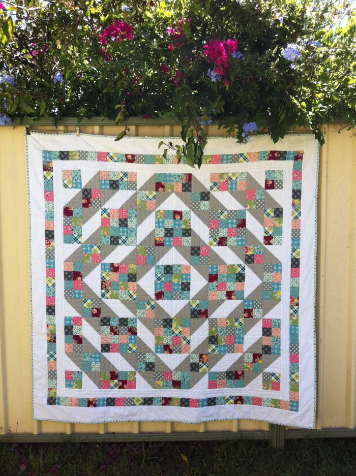 Jacob's Ladder Quilt (2012)