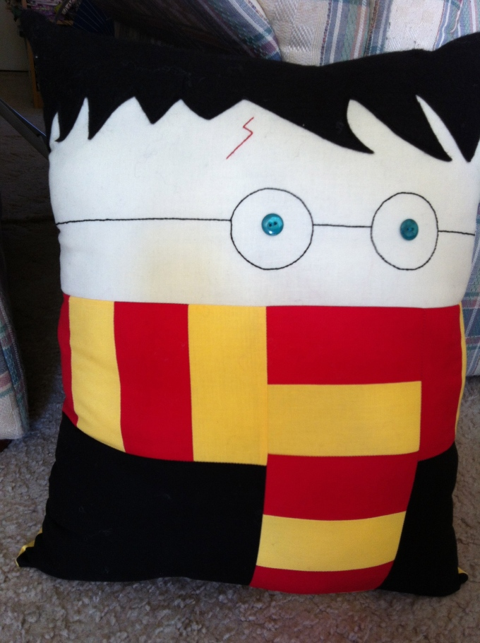 Harry Potter Pillow (2012)