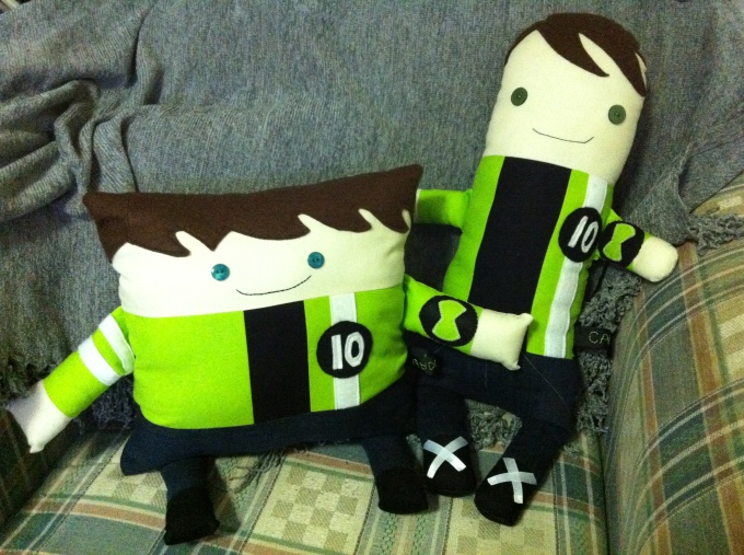 Ben 10 Softies (2012)