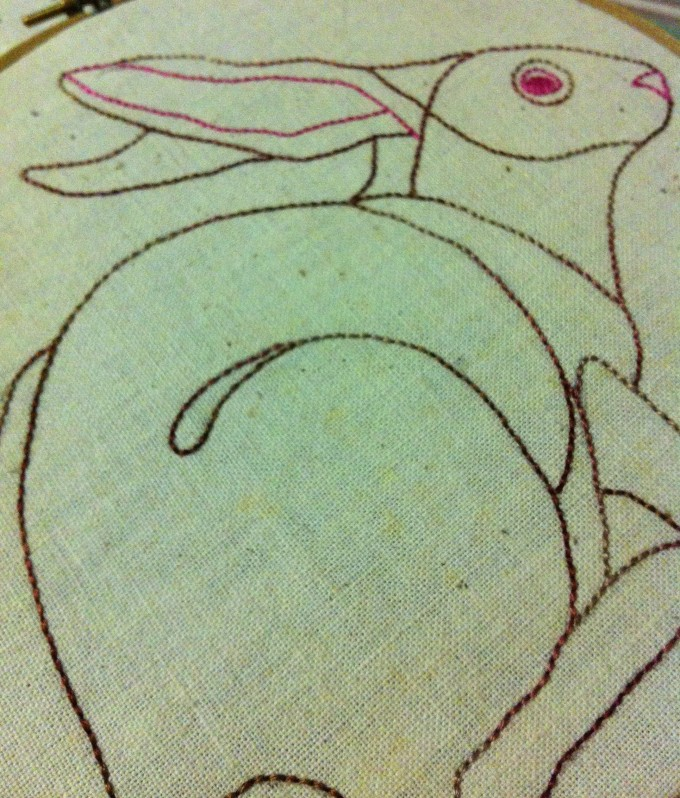Bunny Embroidery (2013)