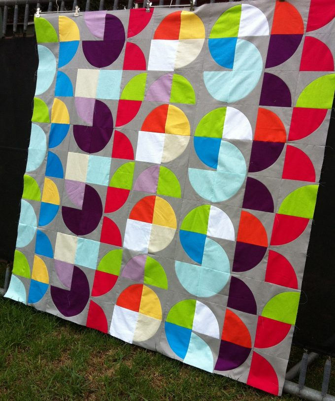 Colourplay Quilt - Top Only (2013)