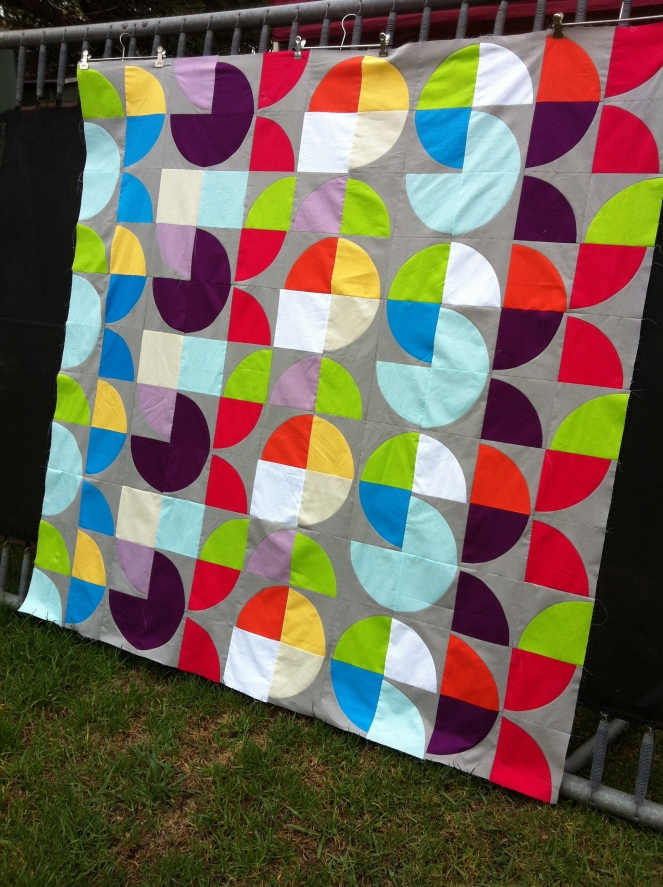 Colourplay Quilt Top
