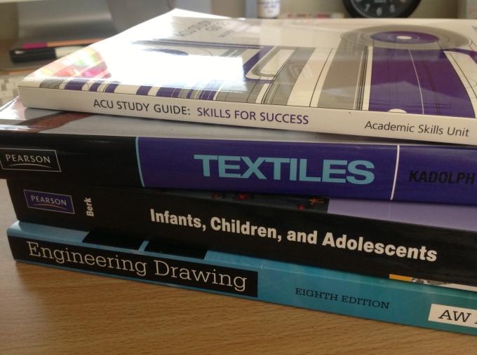 Textbooks - urgh!