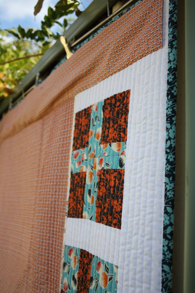 Quilt Back, Close Up