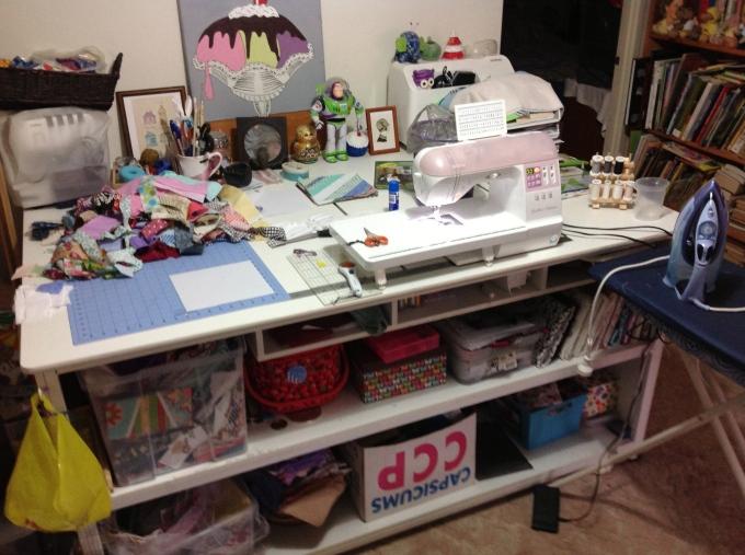 My Messy Set Up