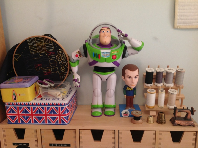 Buzz: My Ever Watching Hero & Lovely Sewing Notions!