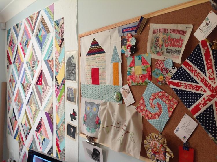 Design Wall & Inspiration Cork Board