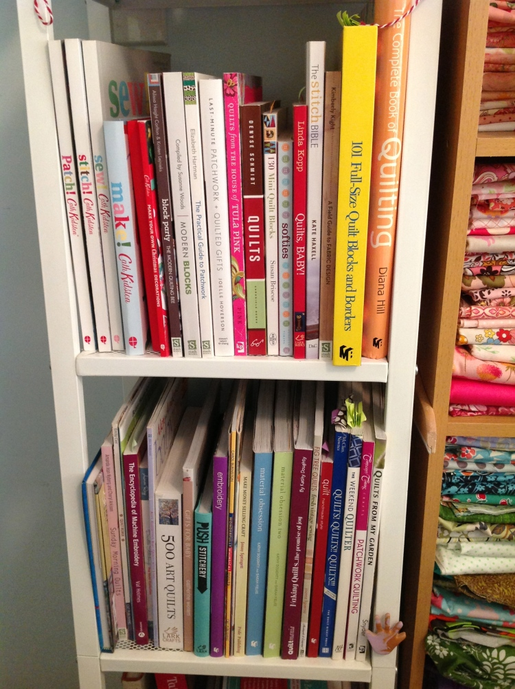 Stacked Quilt Books
