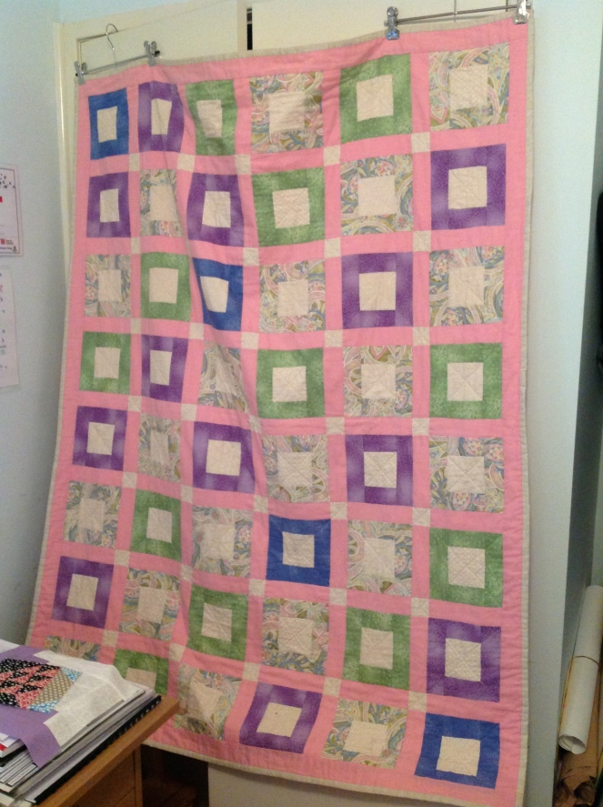 My First Quilt!