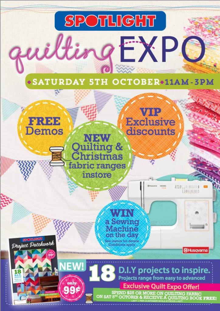 Quilting Expo Poster