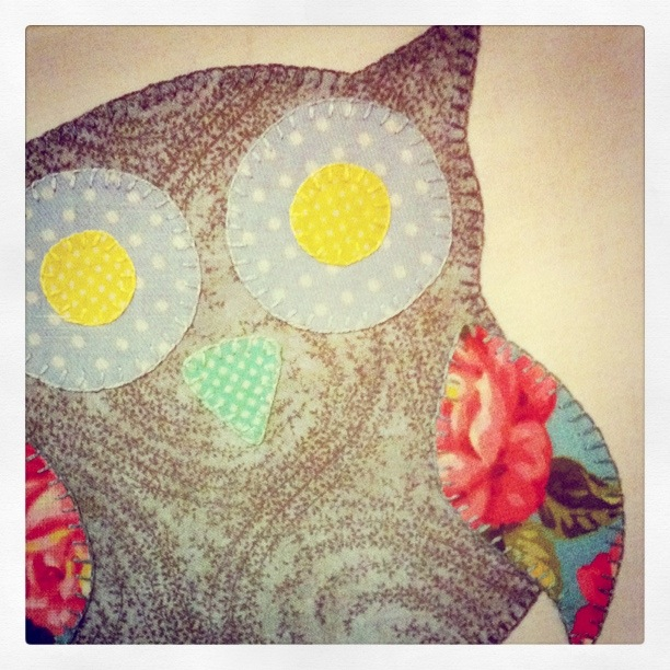 Owl Applique (2011)