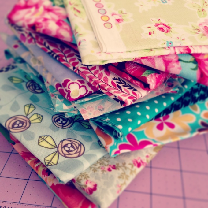 A sweet pile of fabric goodness!