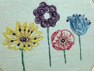 Painted Flowers (2013)