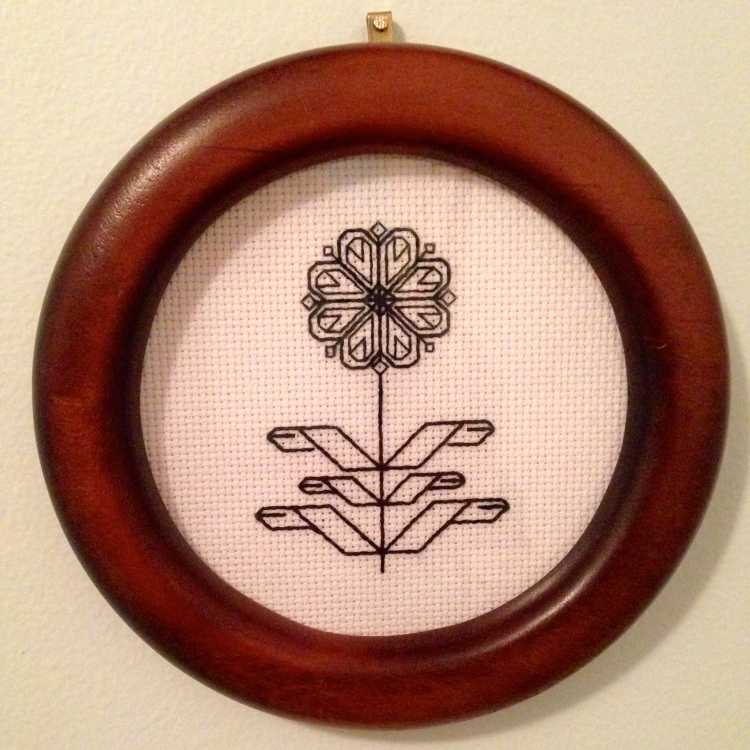 Blackwork Embroidery | First Attempt (2013)