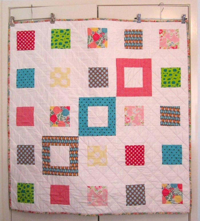 Small Plates Lap Quilt (2013)