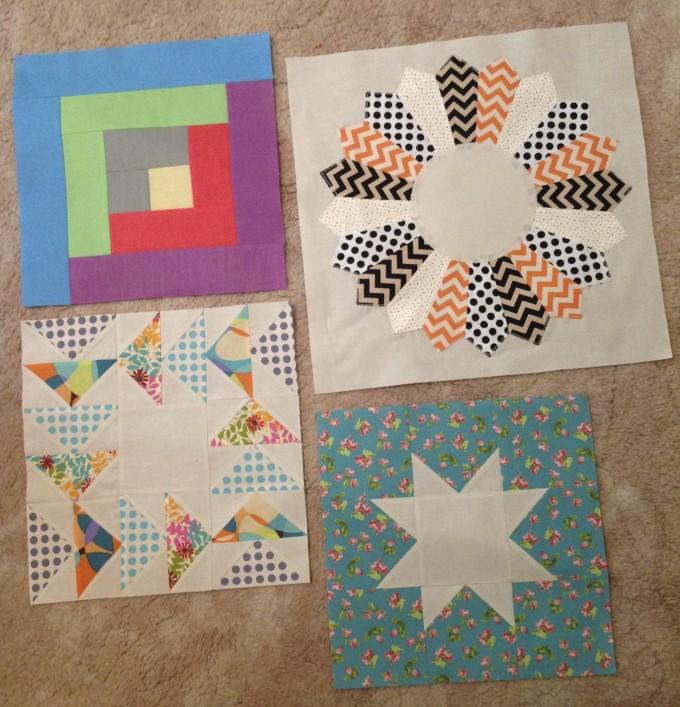 Four Classic Quilt Blocks