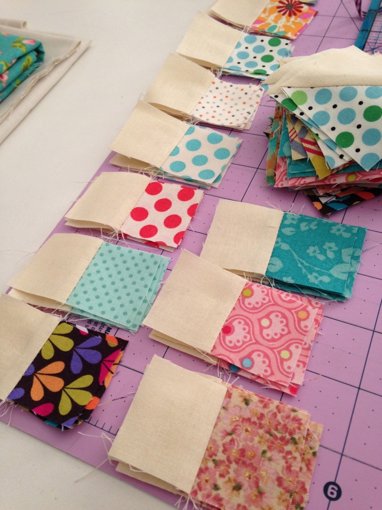 Lots of little squares...