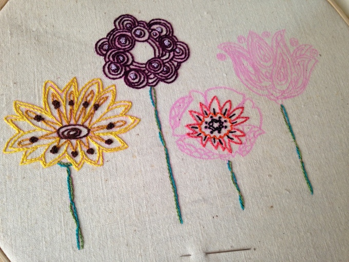 Embroidery Pattern from urbanthreads.com