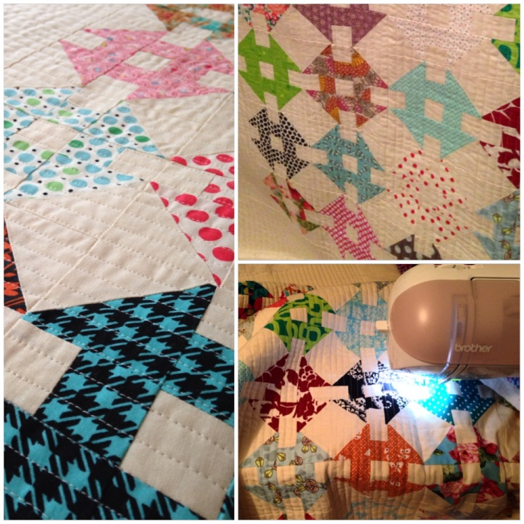 'Just Keep Quilting, Just Keep Quilting'