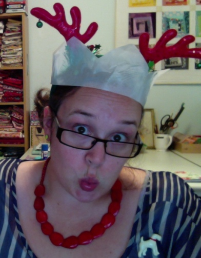 My silly Christmas face!