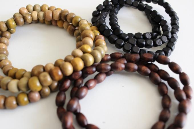 Wooden Bead Jewellery (2014)