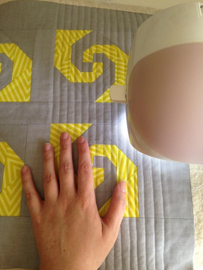 Hand vs. Mini Quilt