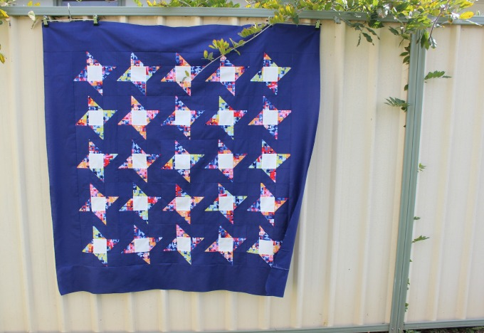 Friendship Star Quilt Top