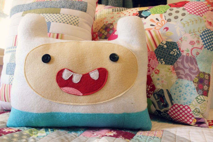 Finn The Human Pillow (2014)