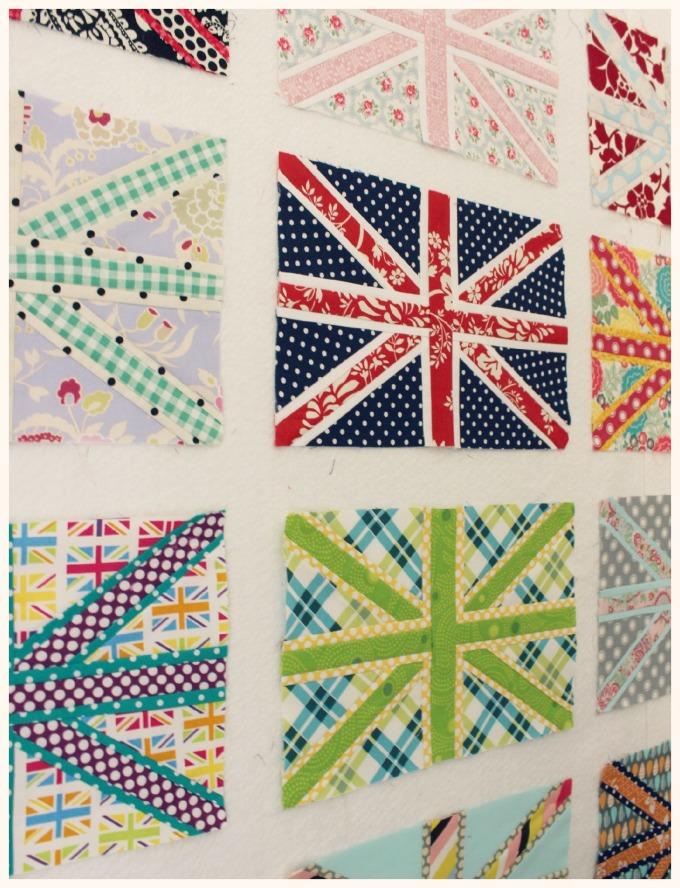 Paper Pieced Union Jacks