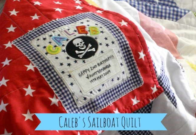 Caleb's Quilt Label