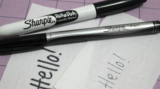 Hello Sharpies