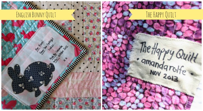 Quilt Labels 2