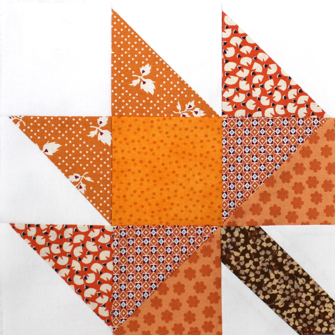 Leaf Quilt Pattern Blocks : TUTORIAL: The Maple Leaf Block 3and3quarters