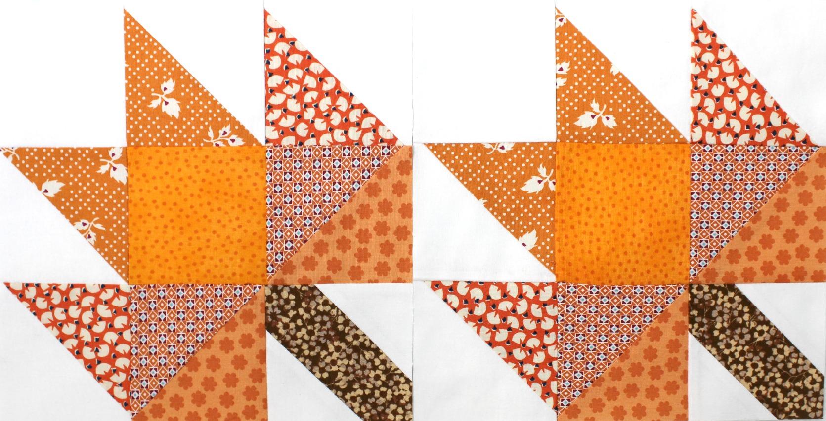 TUTORIAL: The Maple Leaf Block – 3and3quarters : maple leaf quilt block - Adamdwight.com