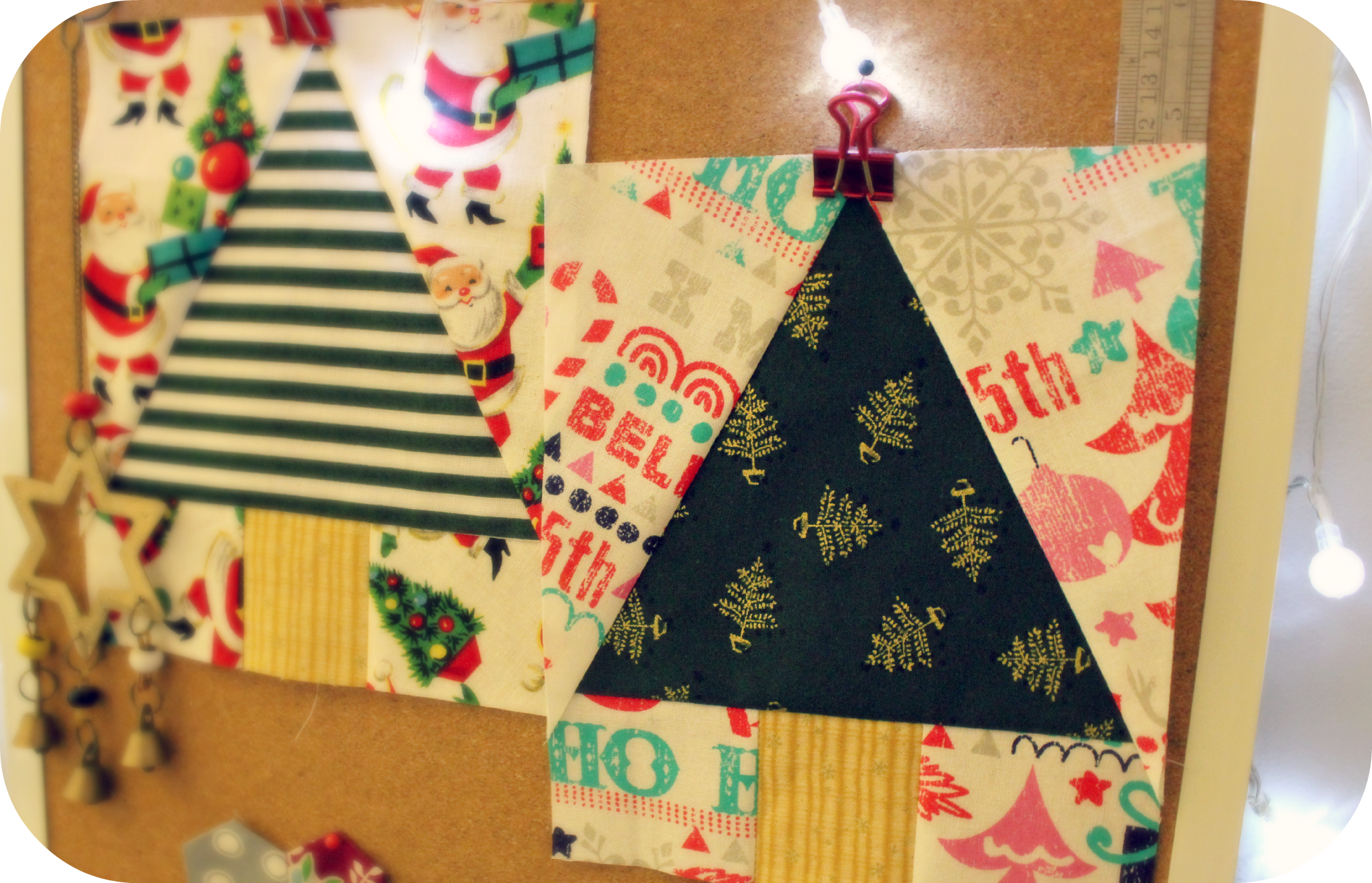 Tutorial Paper Pieced Christmas Trees 3and3quarters