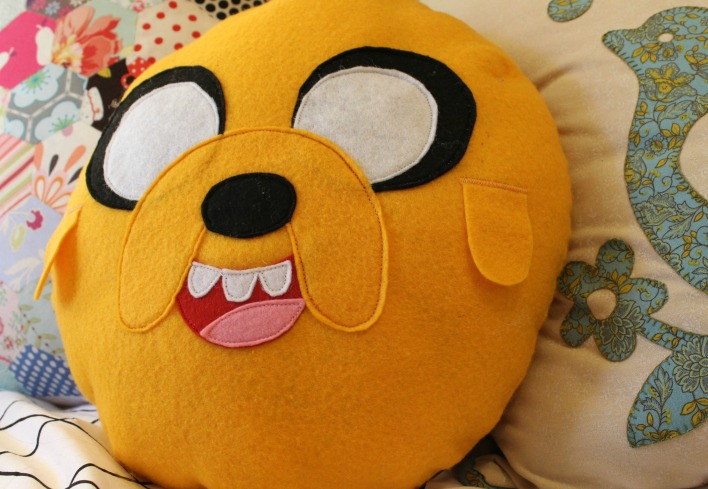 Jake the Dog Pillow
