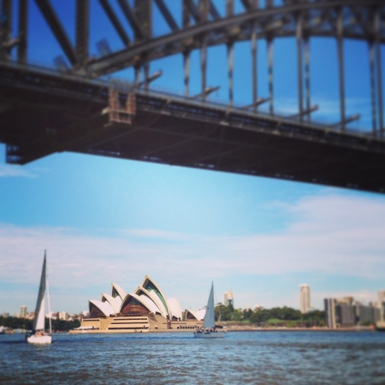 Sydney was looking beautiful this day!