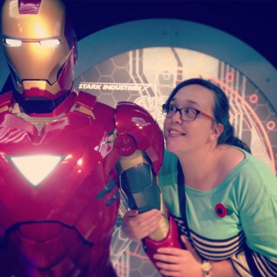 I met an Avenger!