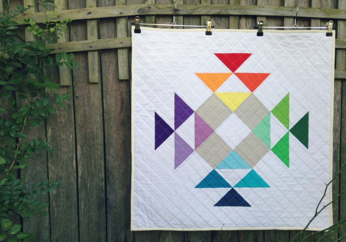 Crown of Thorns Mini Quilt (2015)