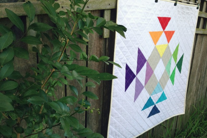 Crown of Thorns Mini Quilt