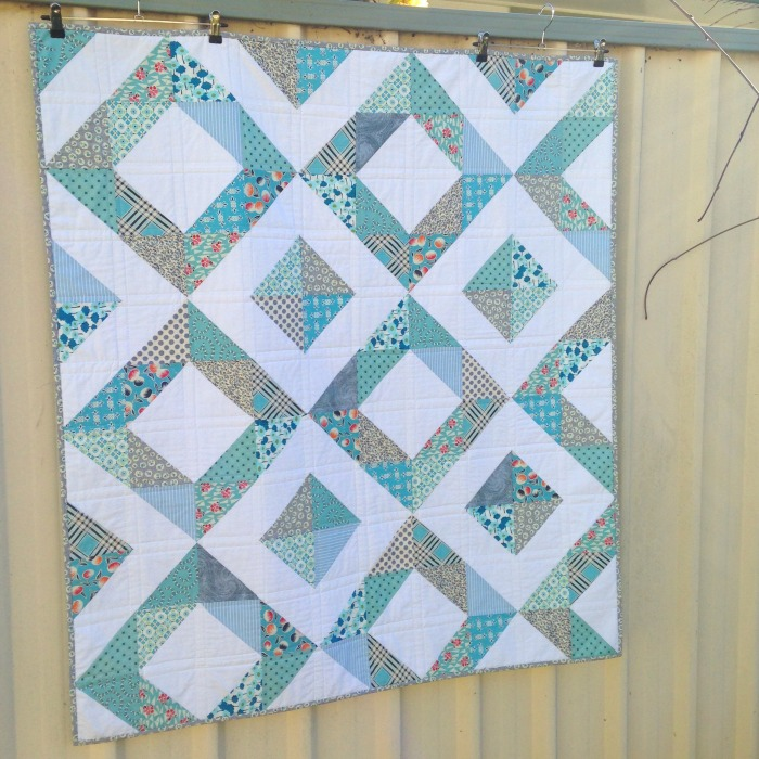 Donna's 50th Quilt (2015)