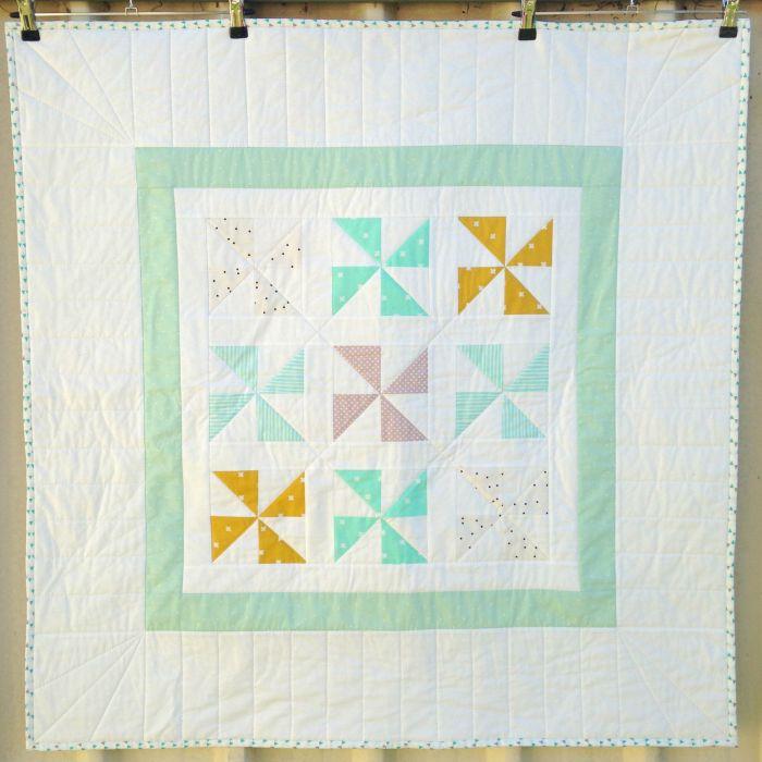 Pinwheel Baby Quilt (2015)