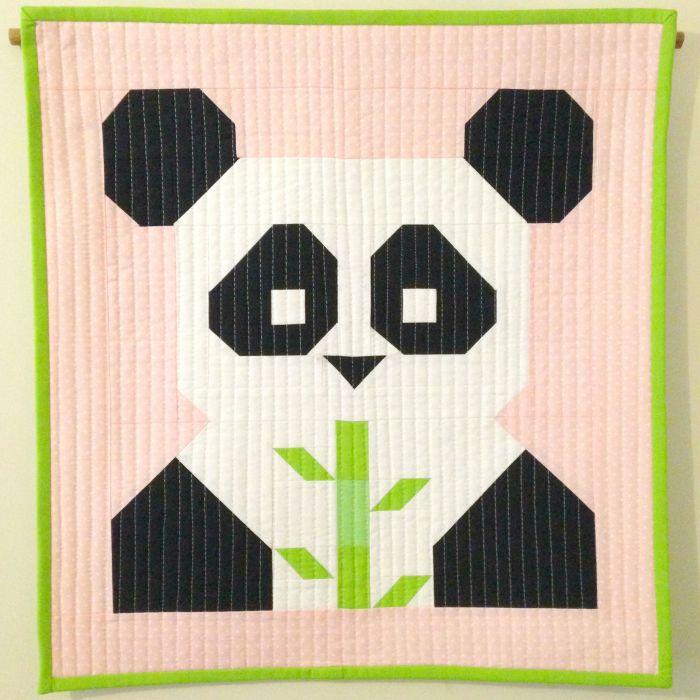 FQS Pandamonium Mini Quilt (2015)