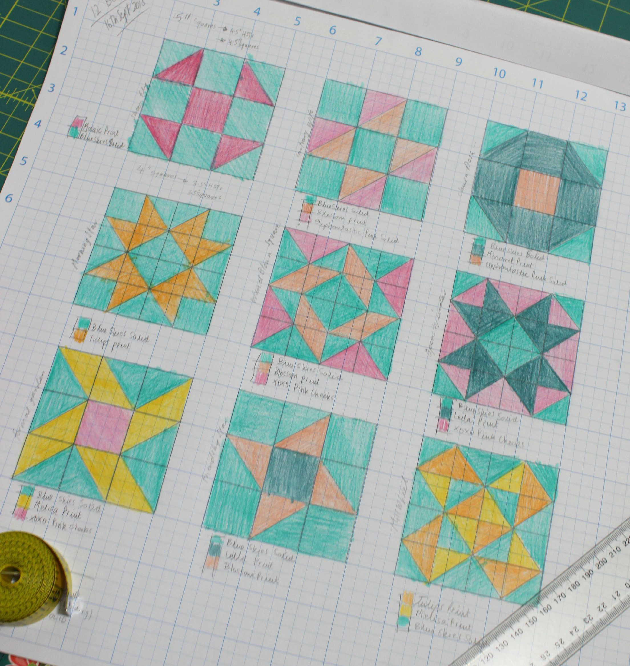 Introducing Quilt-Along Series #2 | HST Sampler Quilt! – 3and3quarters : contrary wife quilt block - Adamdwight.com