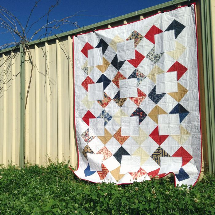 Open Window Quilt (2015)