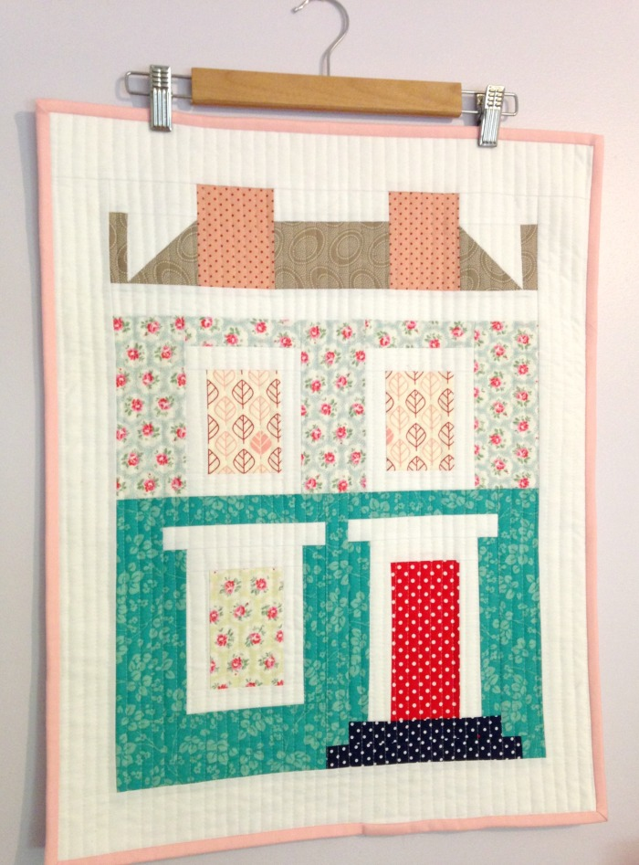 Notting Hill House Mini Quilt (2015)