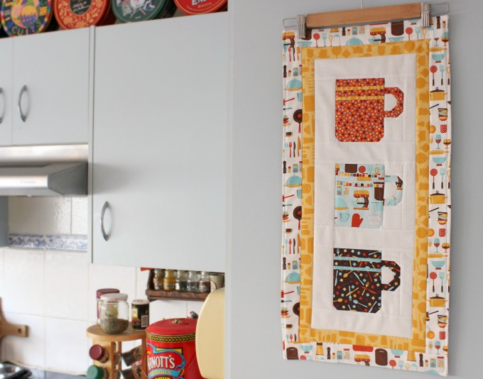 'In The Kitchen' FPP Coffee Cups Wallhanging (2016)