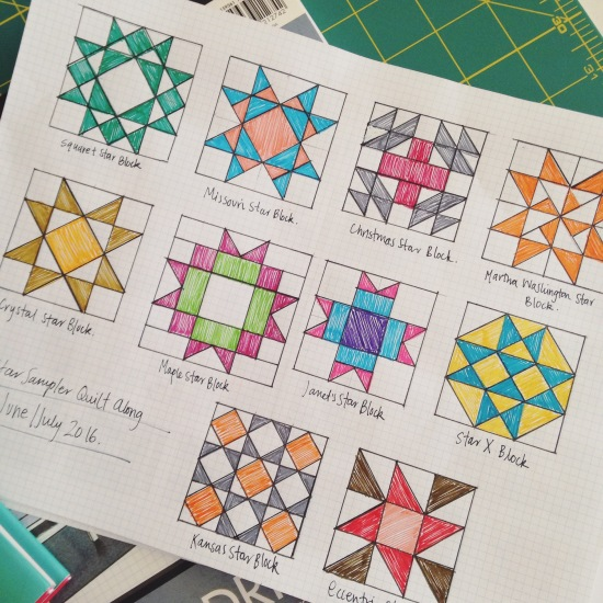 Brainstorming a few block designs!