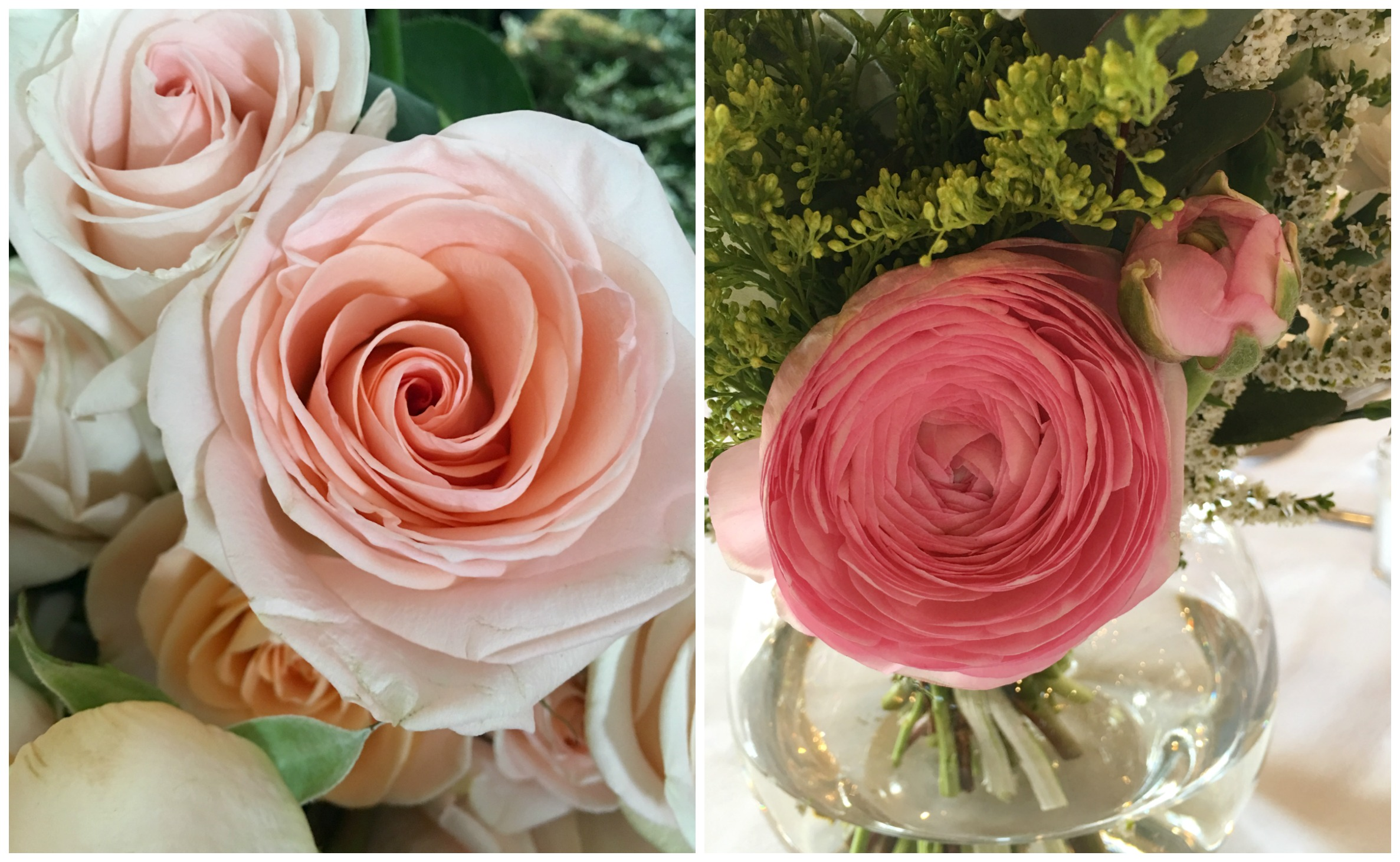 My 30th birthday weekend 3and3quarters i managed to pick up an array of perfectly coloured roses in season ranunculus darling peachy and white spray roses beautifully perfumed stock izmirmasajfo